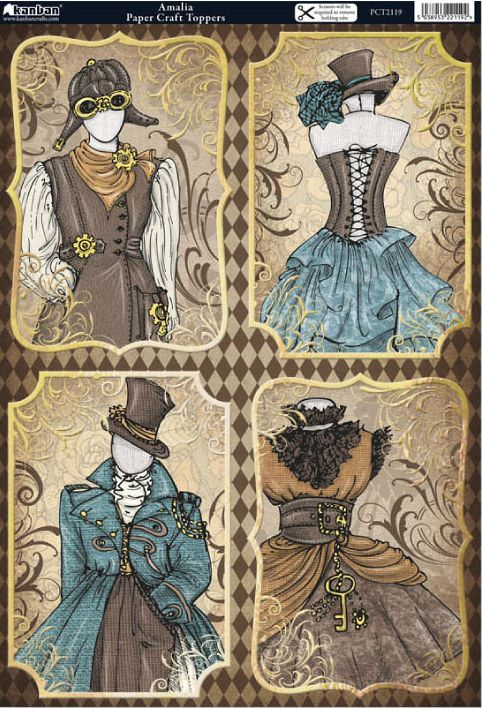 Vintage costume tags
