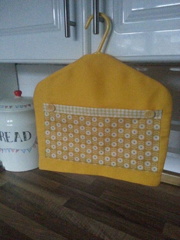 Yellow peg bag