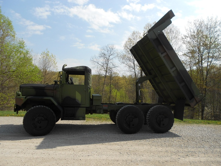 M35A2 with dump bed. M 923 6x6 Military 5 ton truck