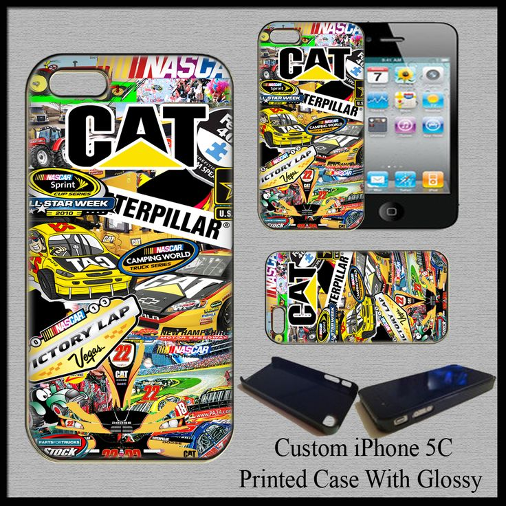New Hot Hard Case Cover CAT Catterpilar Tractor Logo For iPhone 5C Fit For Gift