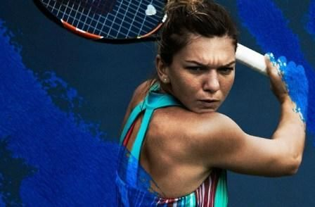 Simona Halep in her new #Adidas tank for the 2016 Australian Open #tennis #fashion
