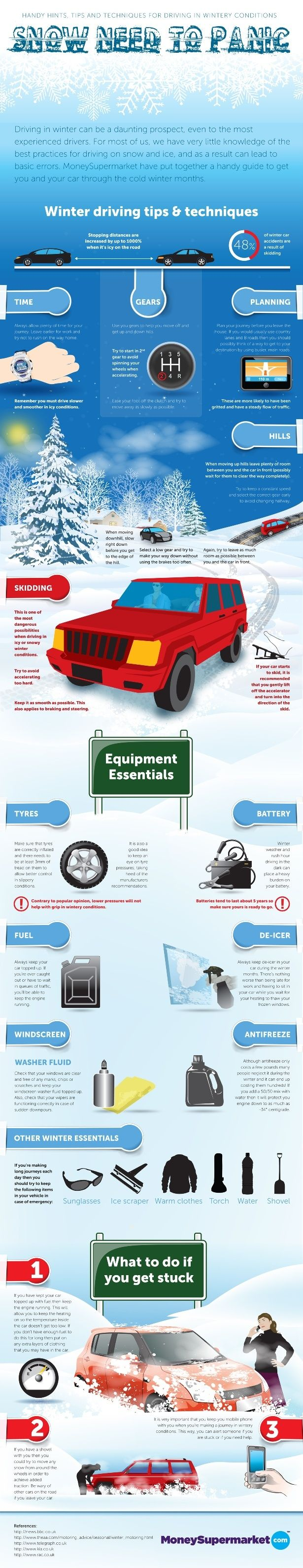 Winter safety tips for truck drivers - Uk Winter Driving Tips Techniques Snow Need To Panic