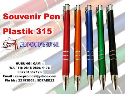 Zeropromosi 081808064176 – kami menjual dan menyediakan Souvenir Promosi berupa Pen Plastik 315, Pulpen Plastik 315, Pulpen Promosi cetak 315, souvenir pen 315