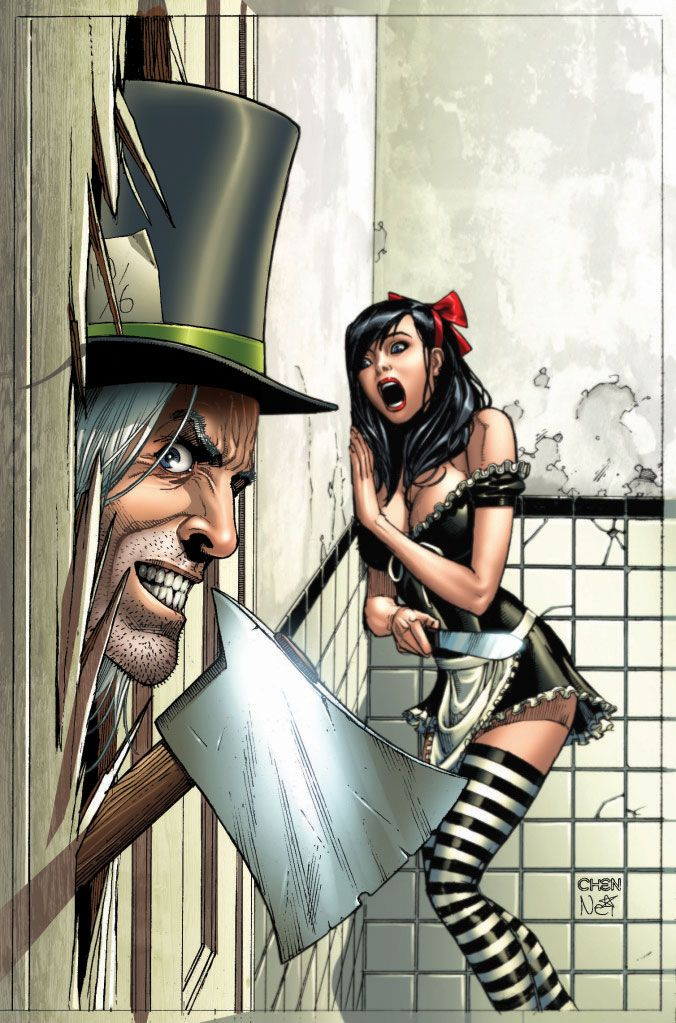 Google Image Result for http://www.majorspoilers.com/wp-content/uploads/2011/02/Wonderland2011AnnualA-Chen.jpg #MikeDebalfo #Comics #Art