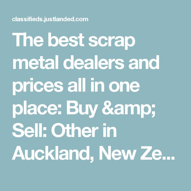 When you search for scrap metal dealers, you will want the best raw materials for your manufacturing plant. But with so many dealers' online offering different prices, it becomes challenging to find the right prices for your scrap metal needs so, we have a single platform through Metal and Steel platform, you will find the best dealers at best prices.