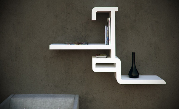 'Helem', the Arabic word for 'dream', creates this iconic bookcase by Elie Abou Jamra