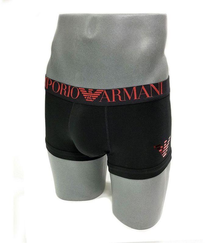 REGALO HOMBRE - REF:111389-6A595-020 - Ropa interior para hombre Emporio Armani en algodón, color negro. La prenda perfecta PARA UN REGALO ocasional. LOW COST.
