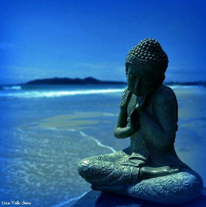 Blue serenity... trust the process and let life unfold