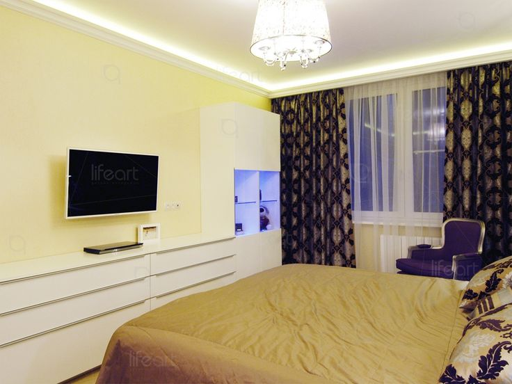 Спальня в современном стиле «Золотая гавань»   lifeat.su