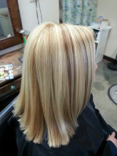 Blonde hair with multi dimensional highlights and lowlights Ask your stylist for finely weaved foils! No chunks for this color!  Spring fun!!!