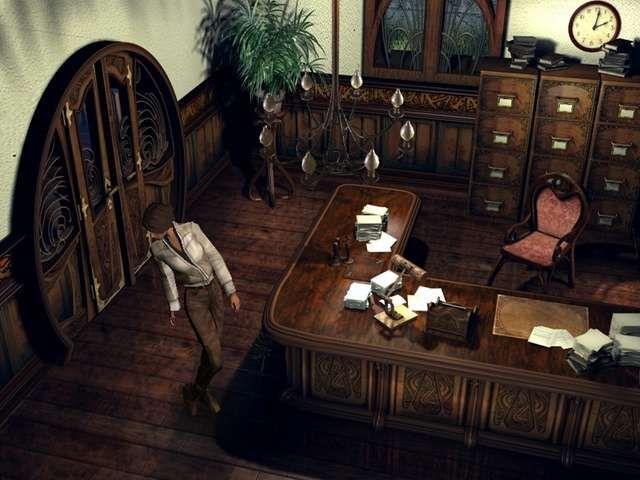 Maître Alfolter's office (Syberia, Benoît Sokal)