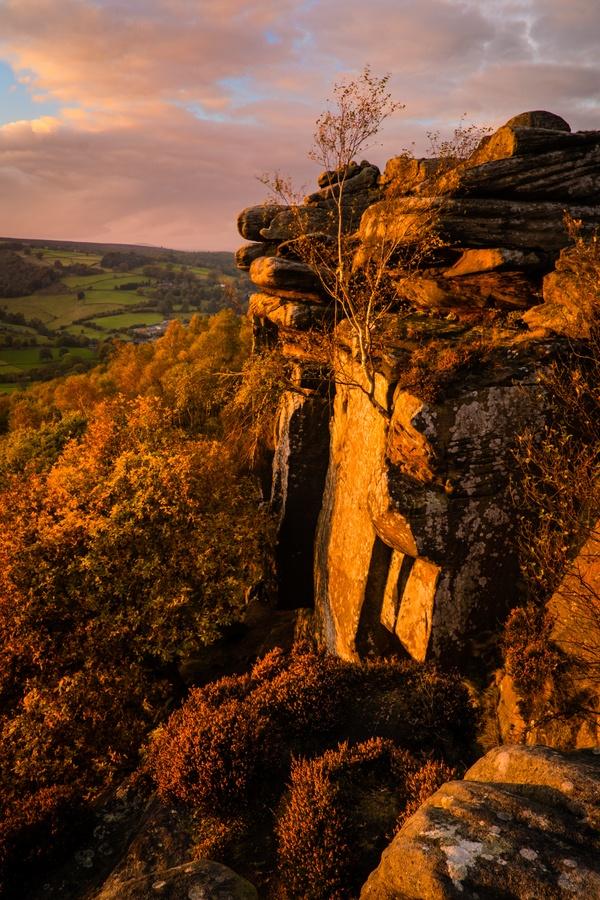 Peak District National Park, Derbyshire, UK 