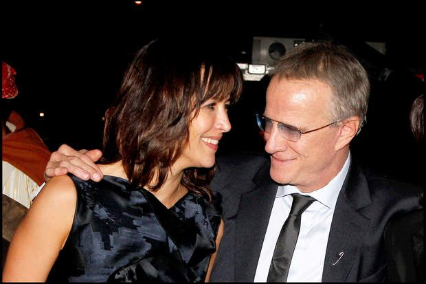 Heureuse avec Christophe Lambert au festival du film de Marrakech en 2010