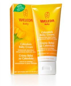Calendula Baby Cream 2.60 Ounces by Weleda. $8.58. Serving Size:. 2.6 Ounces Cream. gently comforts a baby's tender skin nourishes chafed skin forms a protective layer on the skin ideal as a moisture shield when changing the diaper