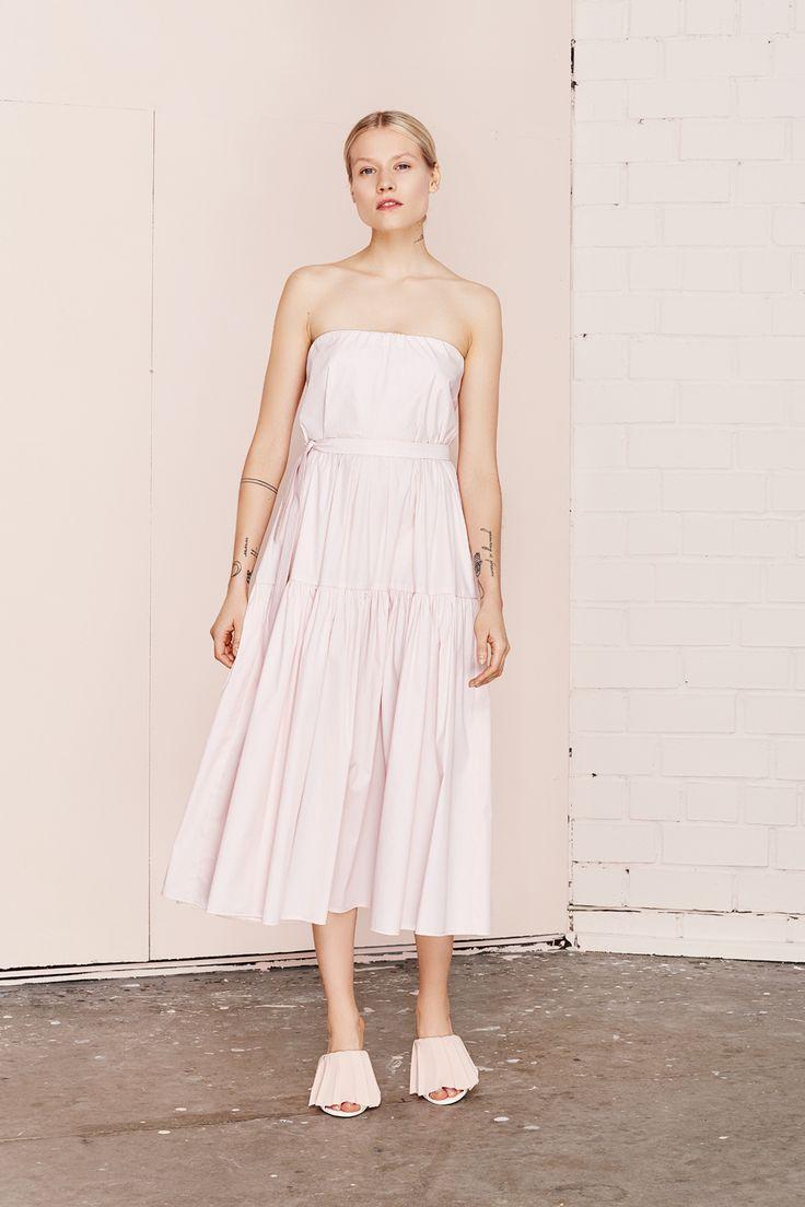 PILAR light pink summer dress  UNDRESS SS17 collection  www.iwearundress.com