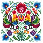 Ethnic heart - Coricamo - Welcome to Cross Stitching, free cross stitch pattern, needlepoint, beading, soutache, mouline, tapestry, embroidery, chart