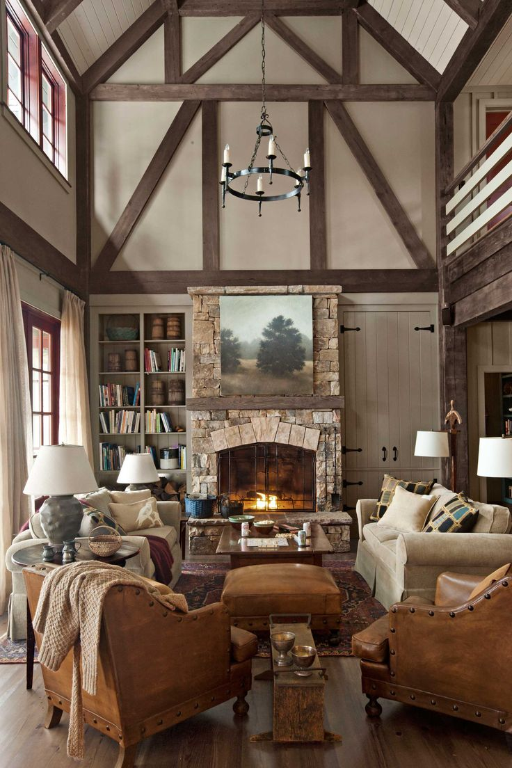 This would make a great living space in a barn home conversion !