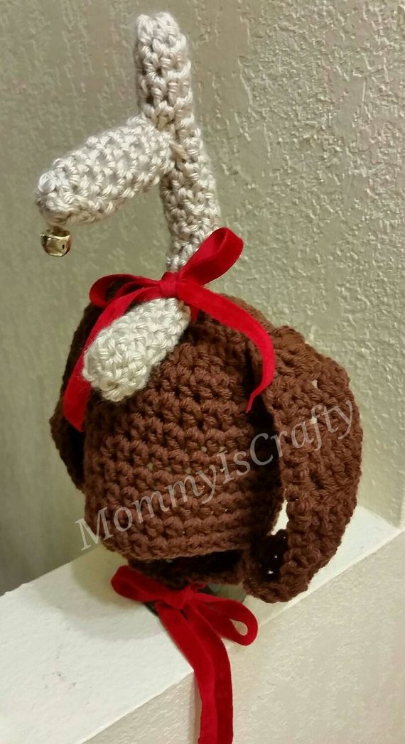 Max The Dog From The Grinch Inspired Crochet Hat Sewing