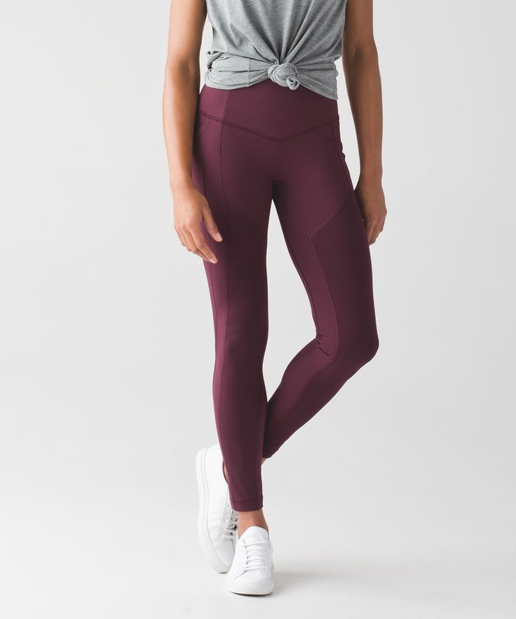 These medium-rise, cross-sport pants have you covered in all the right places.