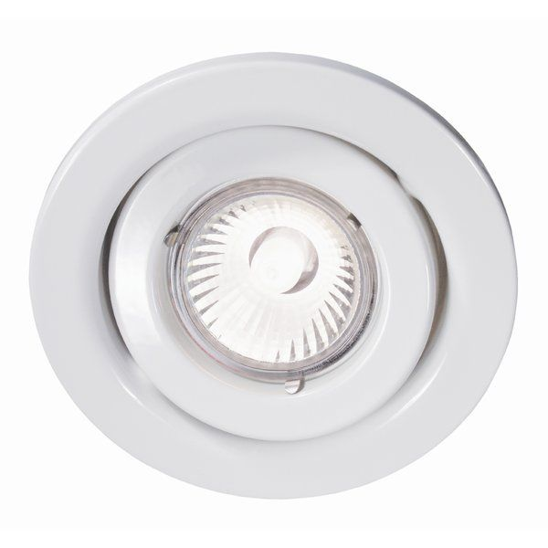 This recessed lighting fixture works with any Halogen GU10 50W bulbs to light up any living space. Whether it is for your kitchen, dining room or living room, BAZZ recessed lighting is the ultimate tool to illuminate your house. It can provide general lighting in some areas of your home and can also be used as accent lighting to showcase a work of art, a workstation or even a wall. Suitable for retro-fit or new construction, the BAZZ recessed lighting fixtures are convenient and easy to…