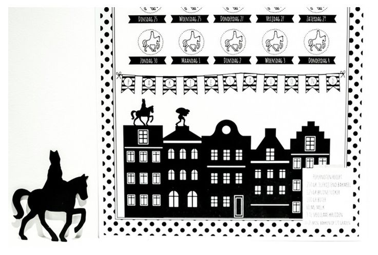 Sinterklaas Schoenzet Kalender 2014