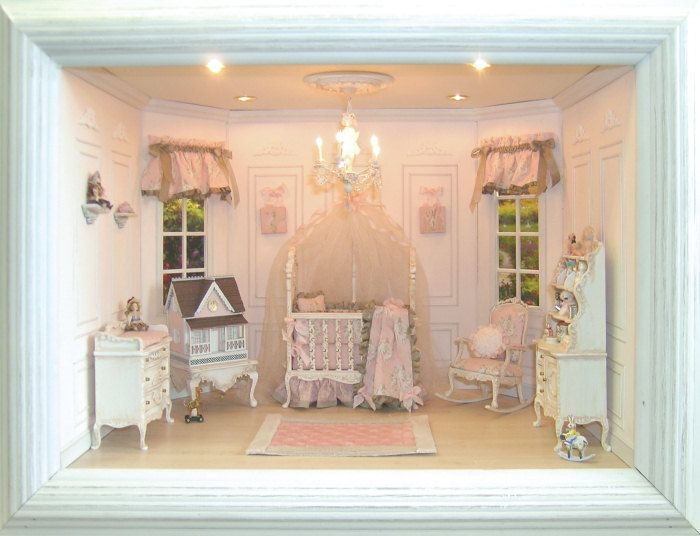 Viktorianisches Puppenhaus Holz ~   Miniaturen für Puppenhäuser, Viktorianisches Puppenhaus und Villen