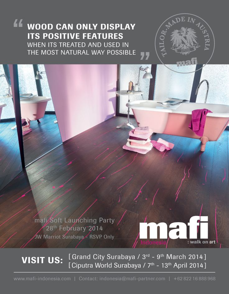 MEDIA PLACEMENT @ BRAVACASA & LIVING ETC MAGAZINE FOR MAFI FLOORING INDONESIA