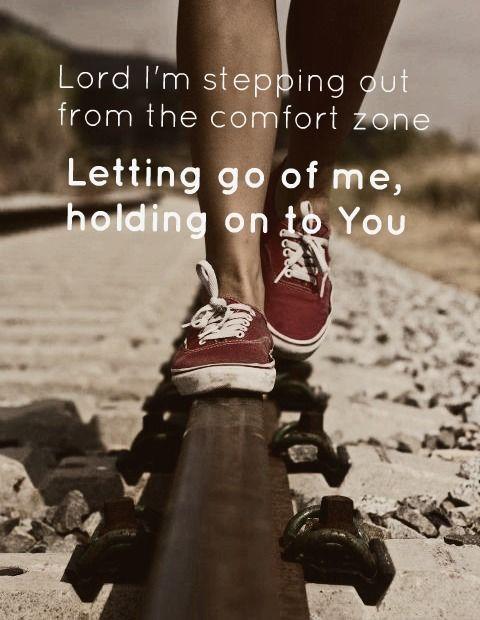 let go and let God...