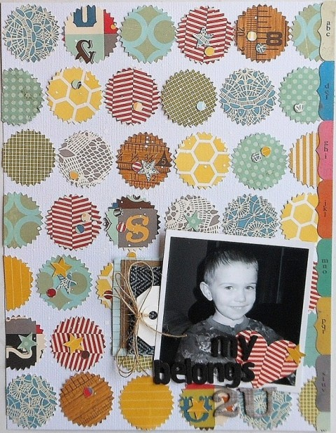 my heart belongs to this page layout #scrapbook #papercraft #love: Layout Ideas, Scrapbook Layouts, Layout Scrapbook, Papercraft Scrapbook, My Heart, Crafting Ideas Creations, Scrapbook Papercraft, Scrapbooking Layout