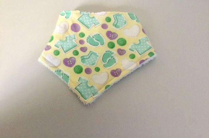 Baby bib, bandana bib, dribble bib, toddler bib, handmade, baby shower gift by Dgillyscrafts on Etsy