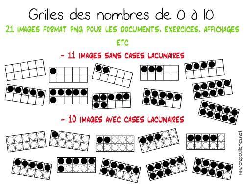 ateliers mathématiques: mes grilles des nombres