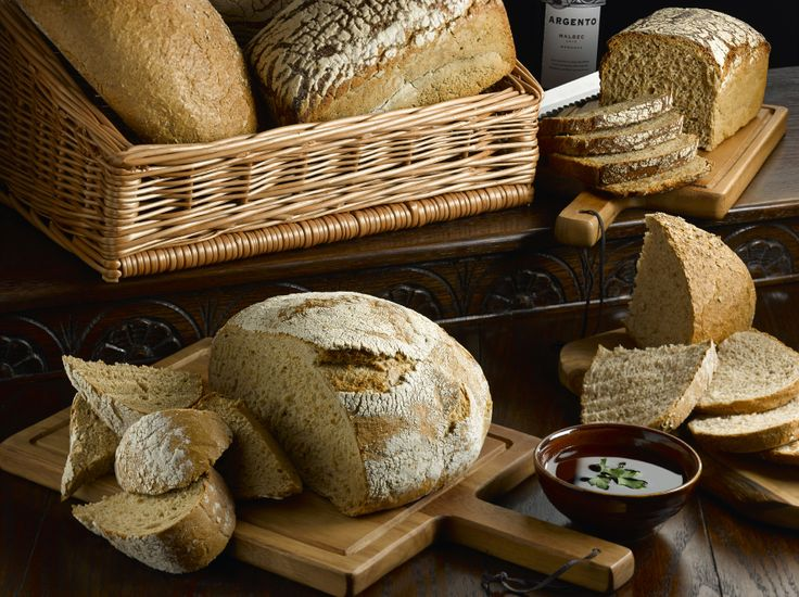 Rustic Bread baskets and wooden chopping boards really show off this artisan bread to its fullest. Throw in some dipping sauces to finish it off