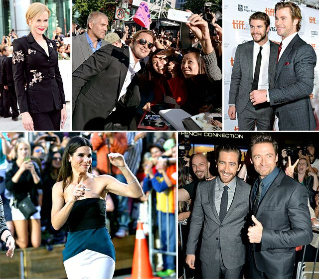 Toronto Film Festival 2013 Pictures: Stars on Red Carpets, Parties!