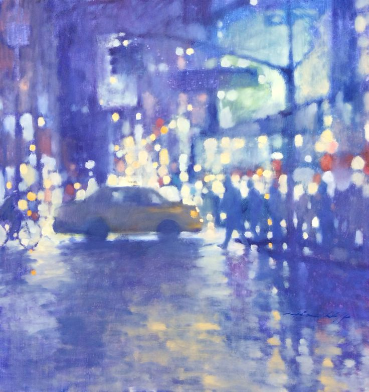 "David Hinchliffe ""Rainy night on Broadway"""