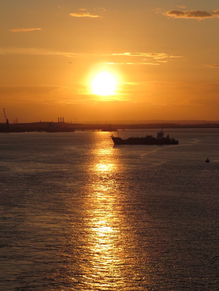 Sunset on the Humber