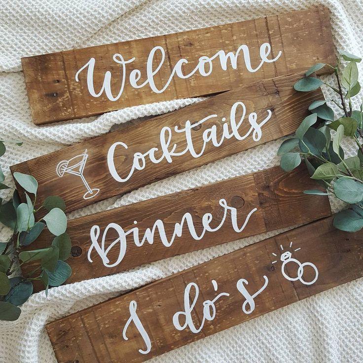 DEKORTÁBLA wedding sign  útbaigazító tábla irányítótábla fatábla  esküvő