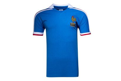 Score Draw France 1986 World Cup Finals Retro Football Shirt Support the French national team in old-school style with this France 1986 World Cup Finals Retro Football Shirt.This retro football shirt is a replica of that worn by the French national team during  http://www.MightGet.com/february-2017-2/score-draw-france-1986-world-cup-finals-retro-football-shirt.asp