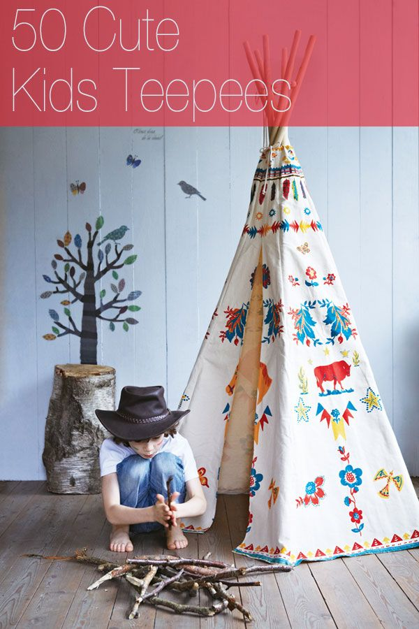 Never underestimate the power of a good teepee.