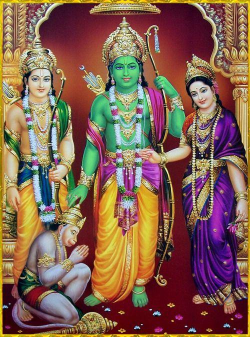 ☀ SITA RAM LAKSHMAN HANUMAN ॐ ☀Artist: V.V.Sagar