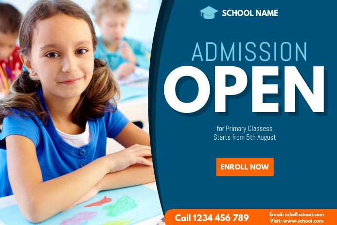 School Admission Flyer Template School Admissions Admissions Poster Top Boarding Schools