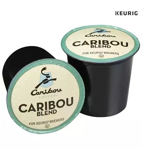 [커피캡슐]96-Pack Coffee Caribou Blend Keurig 2.0K-Cup                                    There is defin...