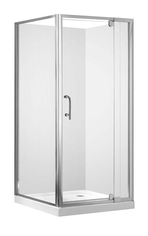SW.0900.SQ.F - Square Shower 900mm 1-Door (SHSDSQ90)