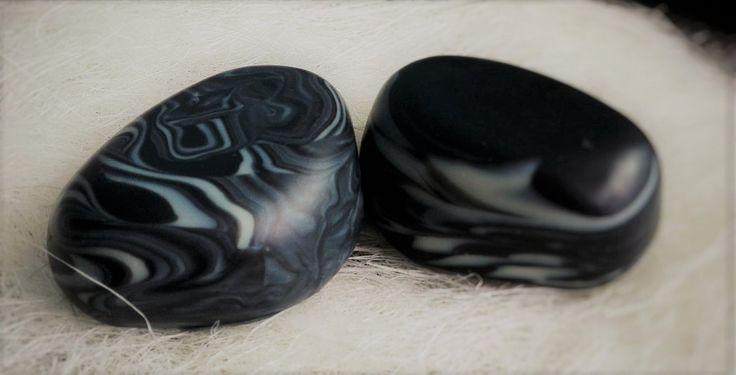 charcoal stones