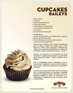 Cupcakes Baileys Recipe  Provided by Le Boyfriend!