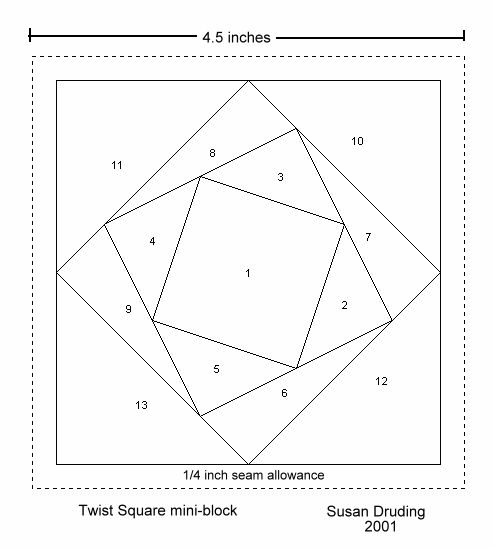 79 best Paper piecing images on Pinterest DIY, Blouses and Crafts - pattern block template