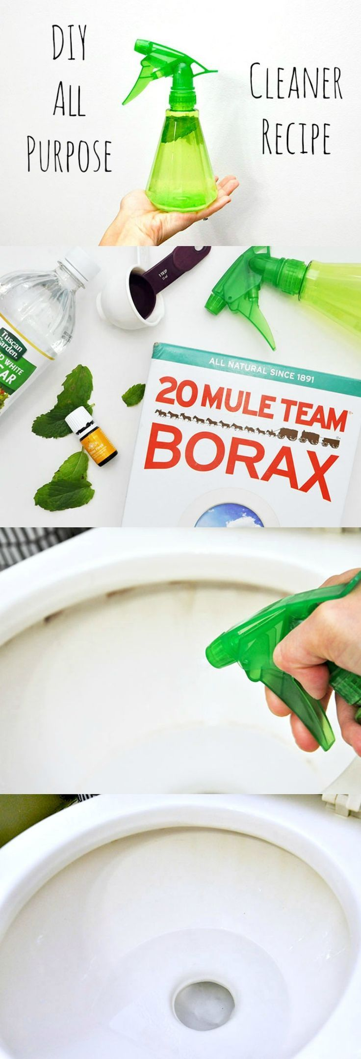 This DIY all purpose cleaner is a great little freshener to have in your cleaning arsenal. Best part? It smells great and is free of harsh yucky chemicals!