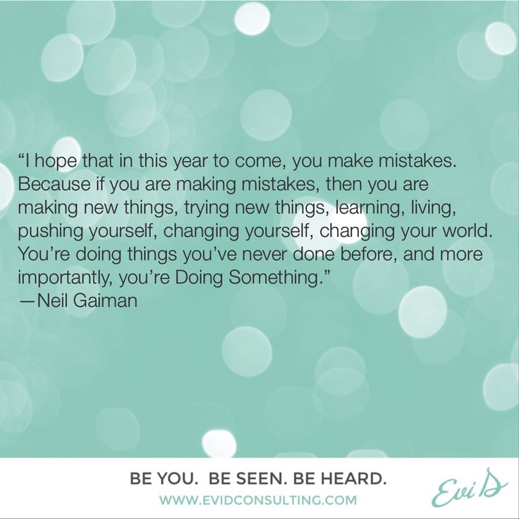 Neil Gaiman New Year Quotes: Best 25+ Quotes About Making Mistakes Ideas On Pinterest