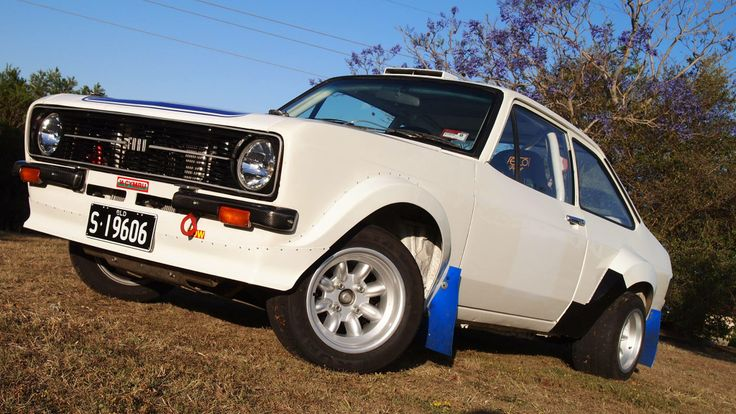 Ford Escort RS Grp4 Rally Car