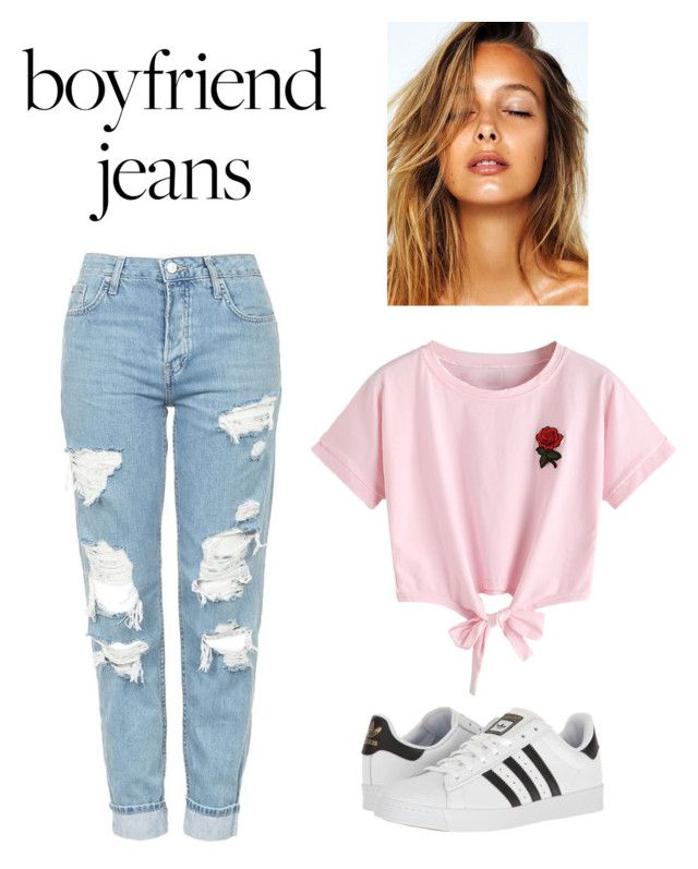 """""""Untitled #215"""" by spatel-2001 ❤ liked on Polyvore featuring Topshop, WithChic and adidas"""