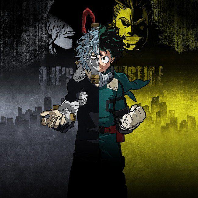 My Hero Academia One S Justice Game Announced For Ps4 Switch Updated My Hero Hero My Hero Academia Manga